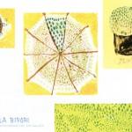 UMBRELLA BIYORI 橋本尚美 版画小品展の画像