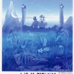 小浦昇 銅版画展 -青い月の物語2010-の画像