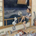 新井コー児 展の画像