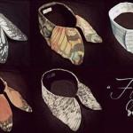 A.li.E 蝶の付け襟の画像