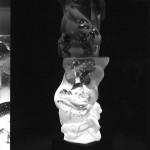 大槻洋介 ガラス作品 『白く静寂な刻』の画像
