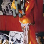 西村亨『人形とドローイング展』の画像