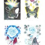 川島百合子 リトグラフ展の画像