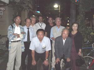 京都支部総会に出席された方々