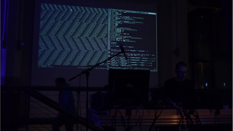 Performance at Algorave, Brighton, UK, July 4, 2014