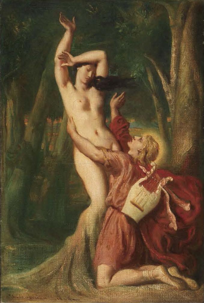 テオドール・シャセリオー《自画像》(1835年、 ルーヴル美術館所蔵) Photo©RMN-Grand Palais (musée du Louvre) / Jean-Gilles Berizzi / distributed by AMF)