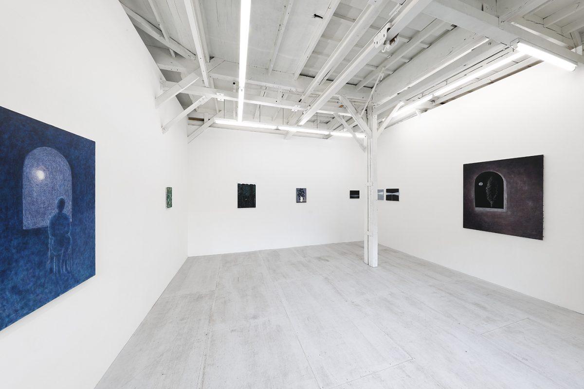「Light, colour, outlines」 展示風景KAYOKOYUKI 2021年