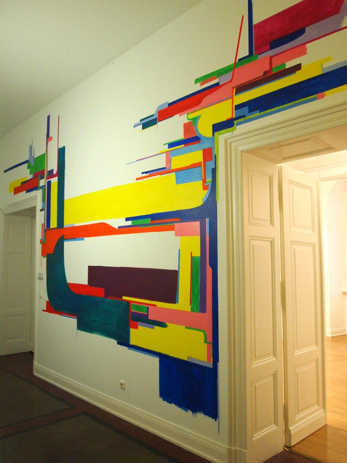 グループ展「november remmeber september」wall work バードエムズ ドイツ2012