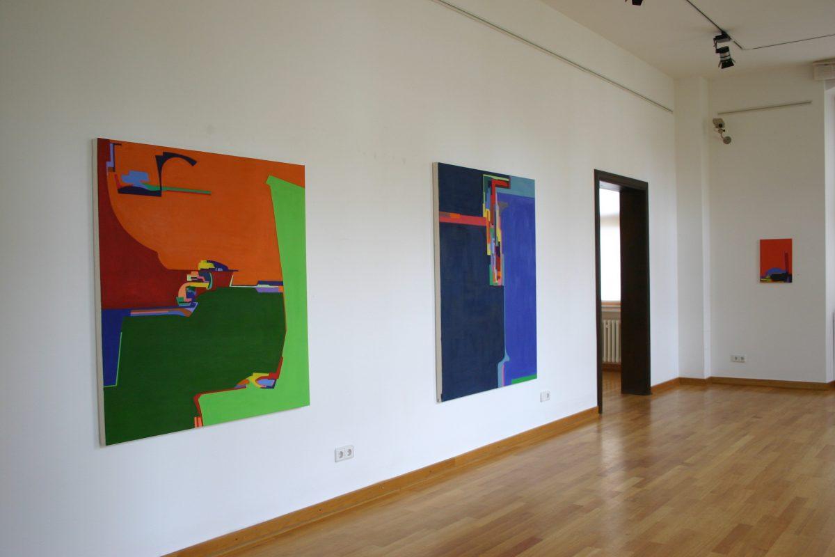個展「my place, your place」レムゴ市立ギャラリー ドイツ 2010