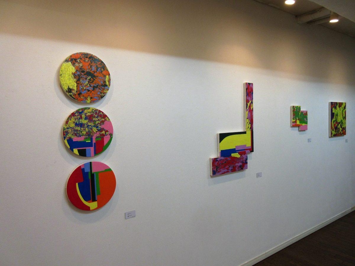 個展「small talk」アートコンプレックス東京 2017