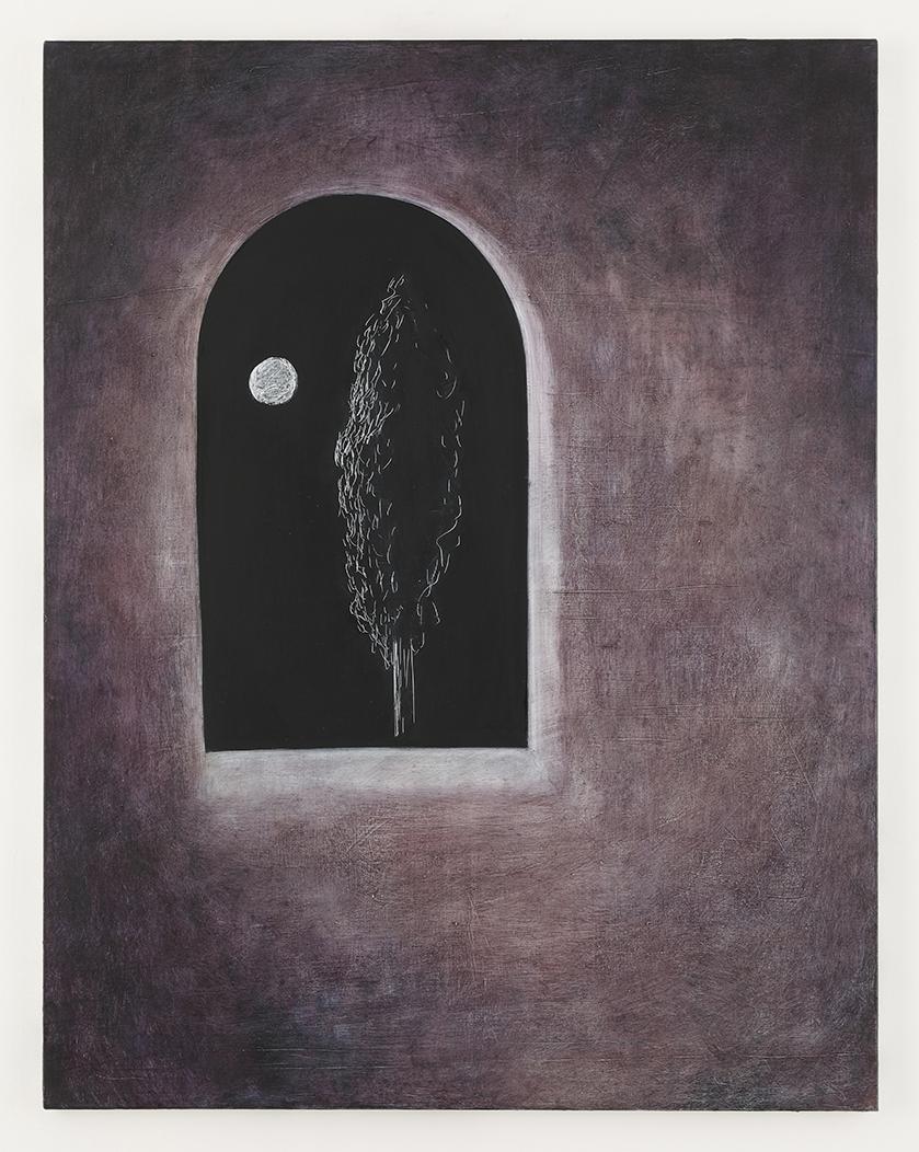 「Moonlight」<br /> 2021年油彩、キャンバス116.7×91cm