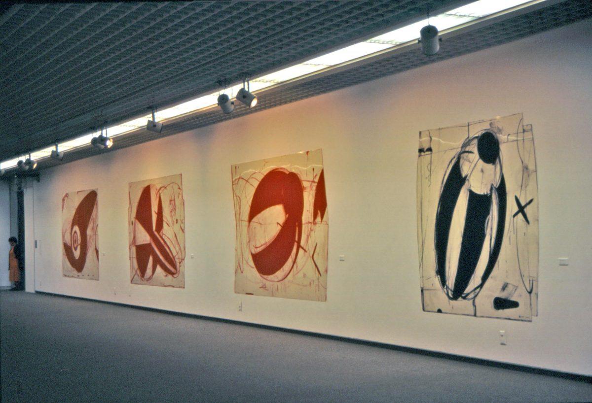 いわき市美術館個展会場風景|1997年