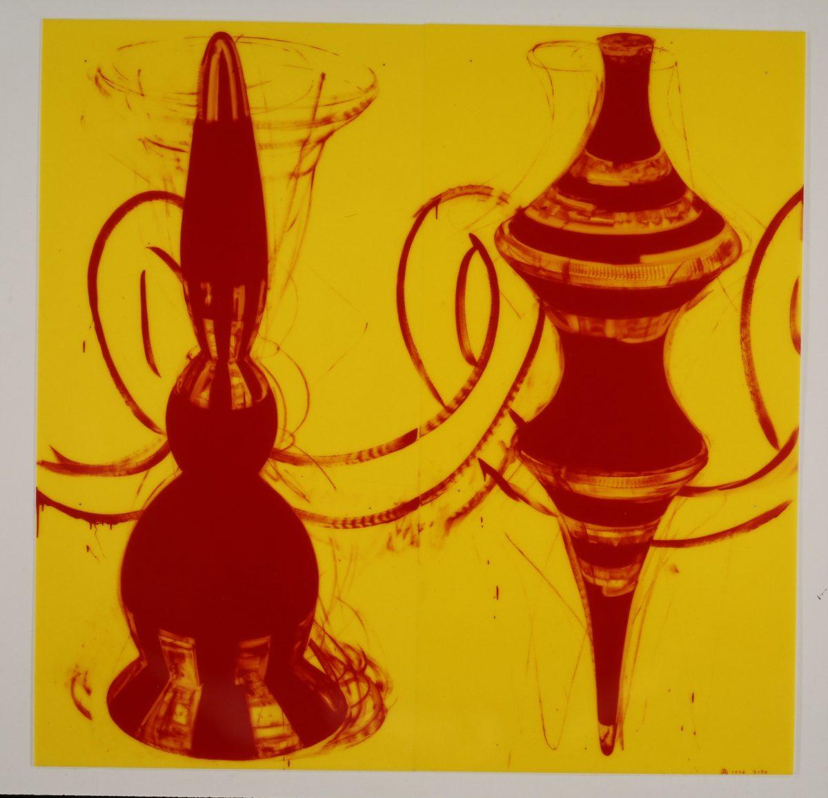 りー70|1996年, 工業用インク、アクリル板, 200×200㎝