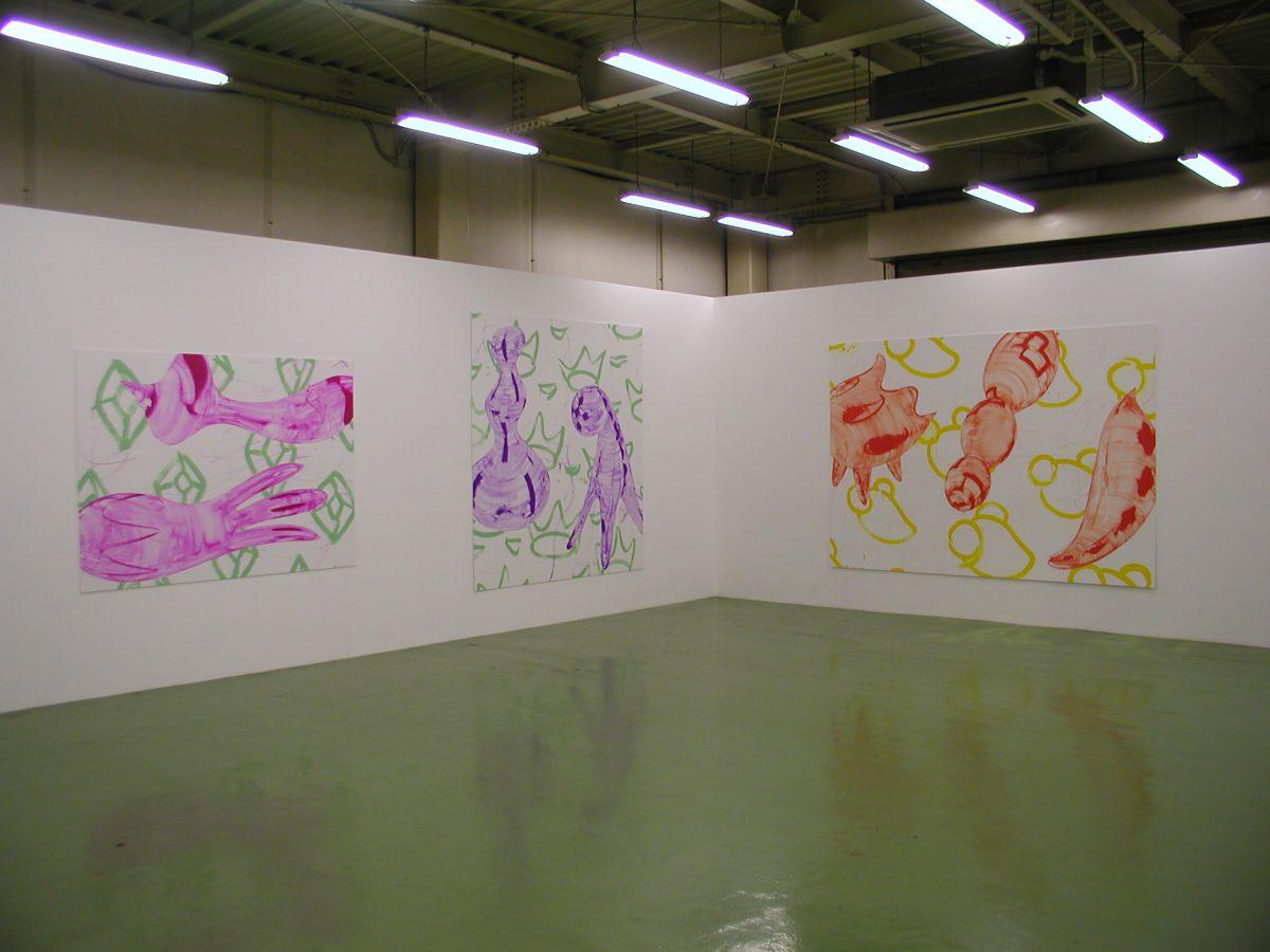 SMMAファクトリー個展会場風景|2004年