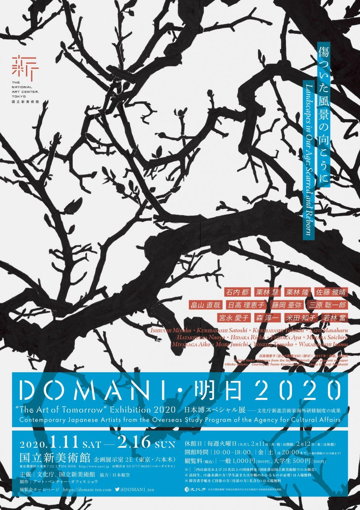 DOMANI・明日展|文化庁芸術家在外研修の成果