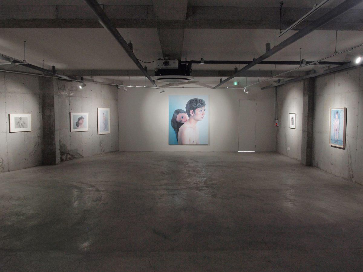 個展「Scenes」 La bella citta (cheongsapo) Space CSP / Gallery D(釜山/韓国) 2019年