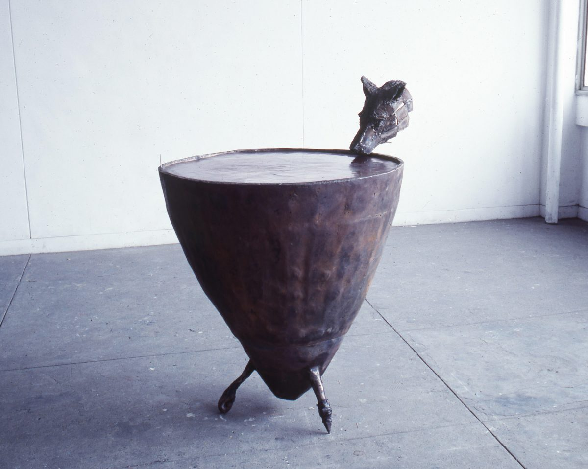 Fountain、鉄、銅、120x86.5x100cm、1985