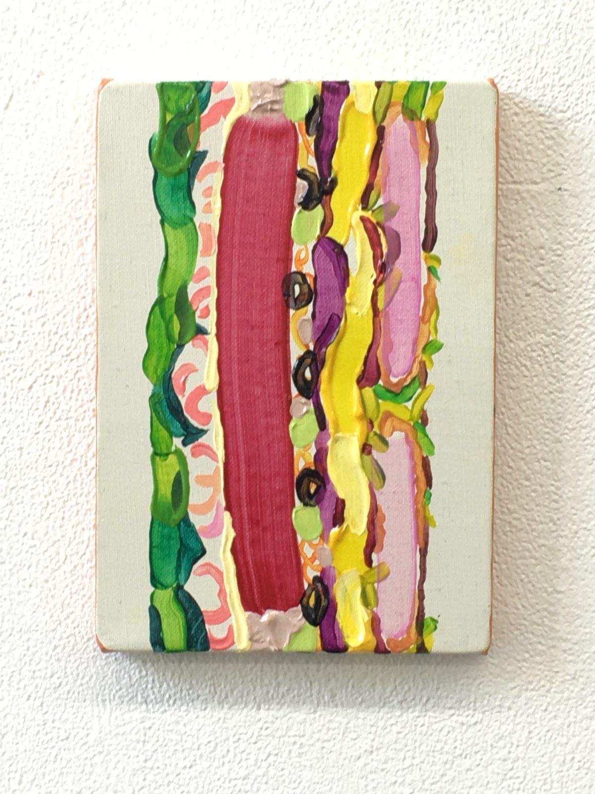 サンドイッチ 227x158 キャンバス、アクリル 2015