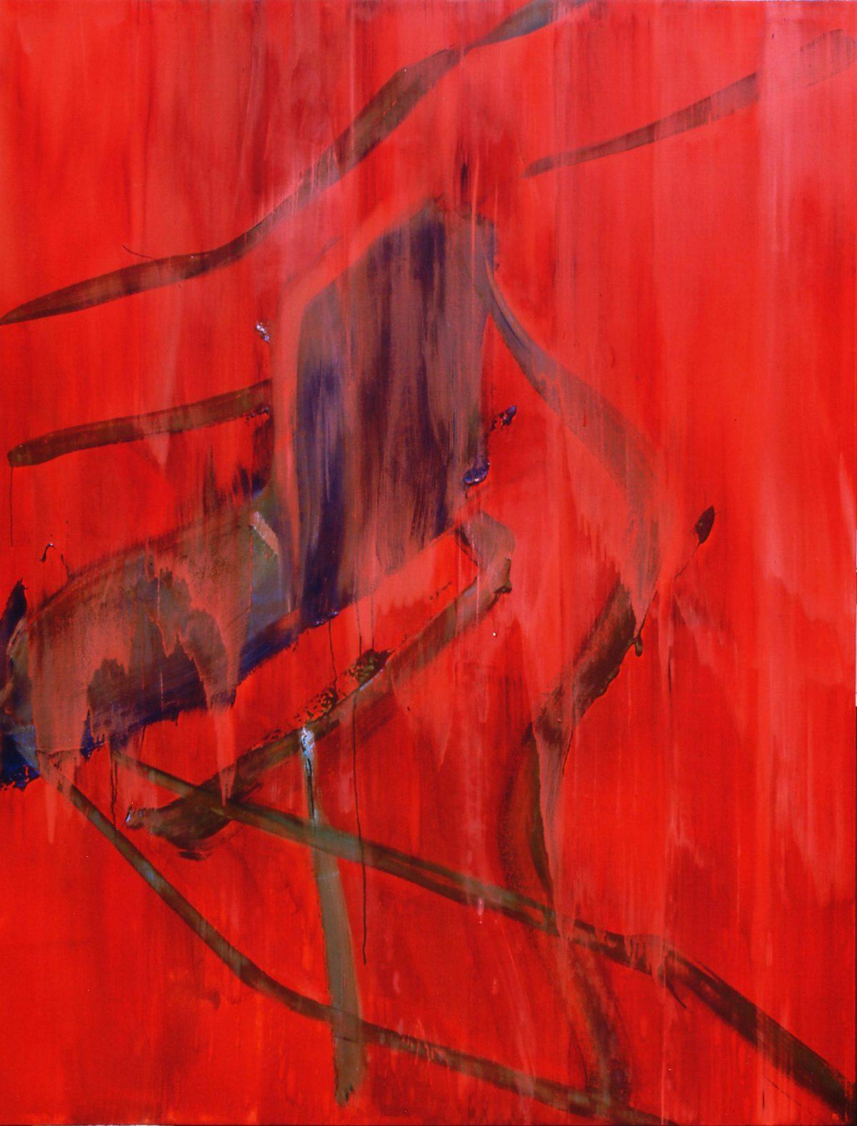 採桑老27 油彩、240×183cm、1998年