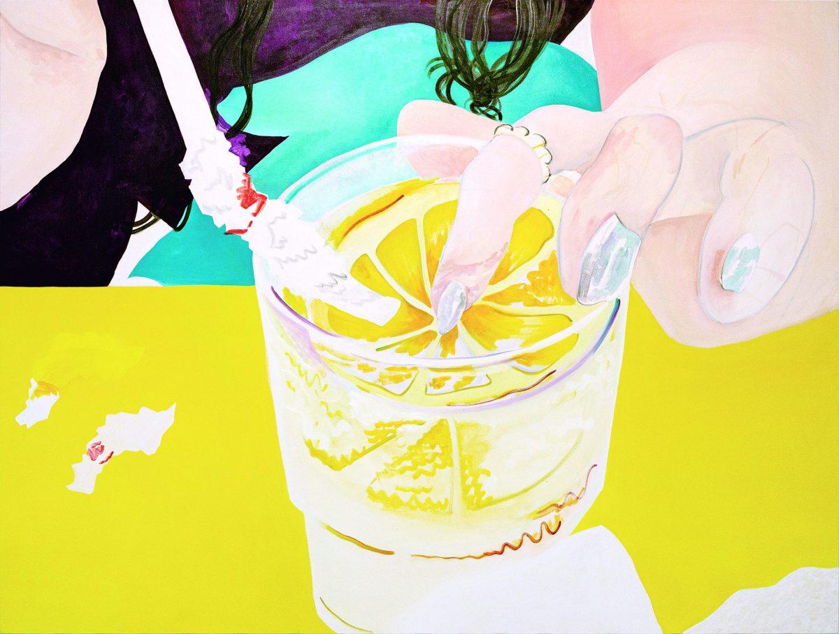 レモン水  oil on canvas  200*265cm 2019