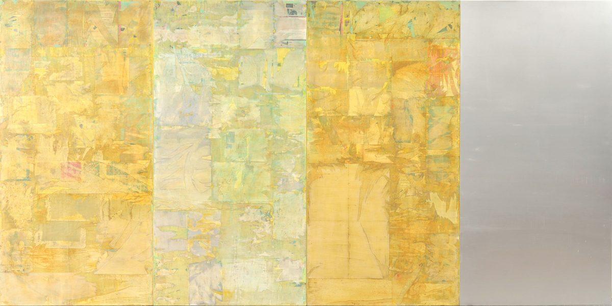 零視13-1 ミクストメディア 194x388cm