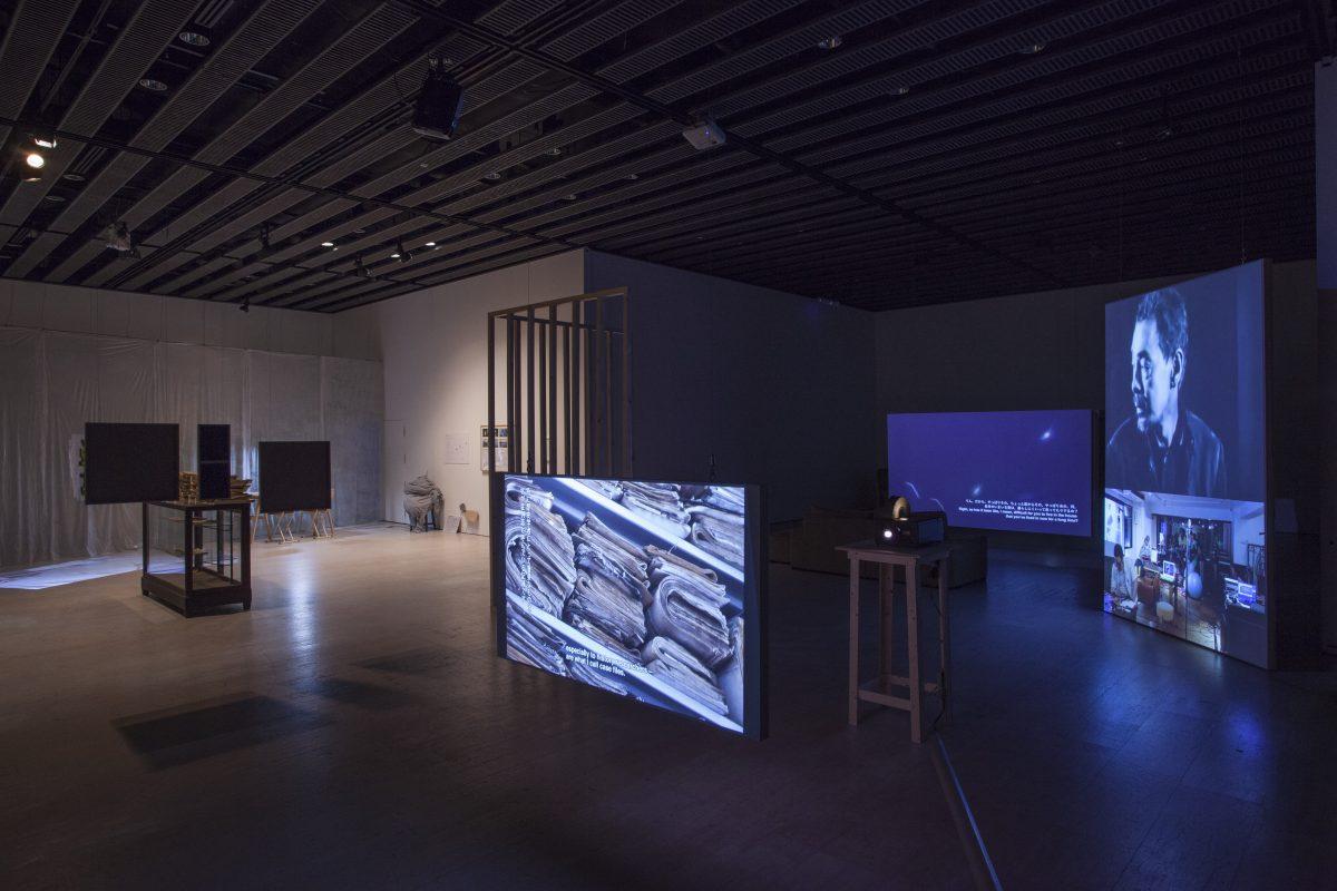 「 Installation view 2017年 せんだいメディアテーク」