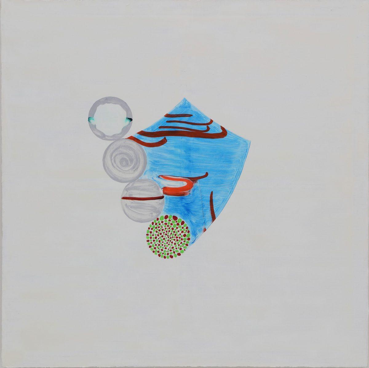 水金地火木<br /> 2019  キャンバスに油彩<br /> 100×100cm  <br /> ©O JUN, Courtesy of Mizuma Art Gallery<br /> 撮影:宮島径